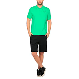 ESS Pique Polo, Bright Green, small-IND