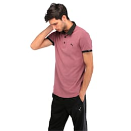 Jacquard Polo, Tibetan Red, small-IND