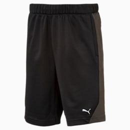 Boys' Gym Shorts, Puma Black, small-IND