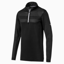 Camiseta de golf para hombre evoKNIT Texture Quarter Zip
