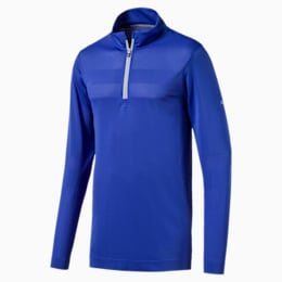 evoKNIT Texture Quarter Zip Men's Golf Pullover