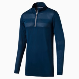 evoKNIT Texture Quarter Zip Herren Golf Pullover