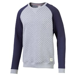 Quilted Men's Golf Sweater