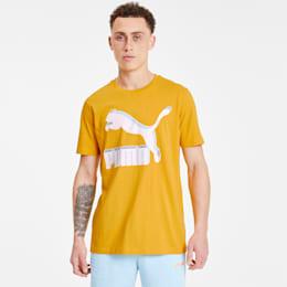 Camiseta Classics con logo para hombre, Golden Rod, pequeño