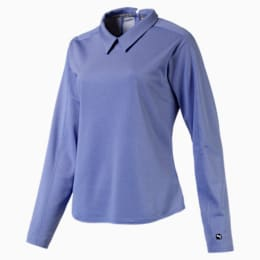 Damen Langarm Golf Polo
