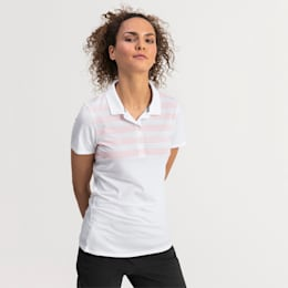 On Par golfpolo til kvinder, Bright White, small