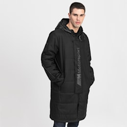 BMW Motorsport Woven Men's Jacket, Puma Black, small