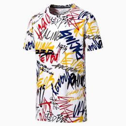 T-shirt Red Bull Racing para homem, Puma White, small