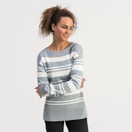 Women's Golf Sweater, Bright White, small