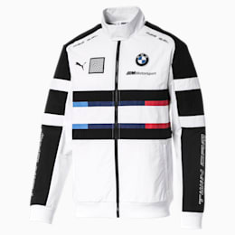 BMW Motorsport Street Woven Men's Jacket, Puma White, small