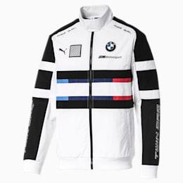 BMW Motorsport Street Herren Gewebte Jacke, Puma White, small