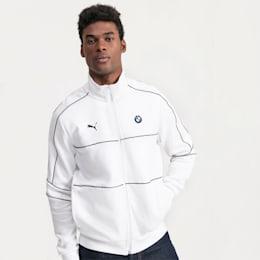 BMW M Motorsports T7 Track Men's Jacket, Puma White, small