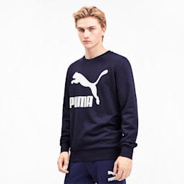 Sweat Classics Logo pour homme, Peacoat, small