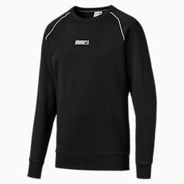 Classics Men's No. 2 Logo Crewneck Sweatshirt, Puma Black, small