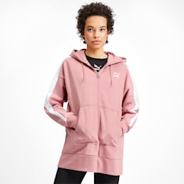 Classics Tape T7 Women's Hoodie, Bridal Rose, small