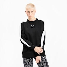 Classics T7 Women's Crewneck Sweatshirt, Puma Black, small