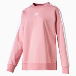 Classics T7 sweater med rund hals til kvinder