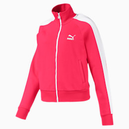 Classics T7 Women's Track Jacket, Nrgy Rose, small