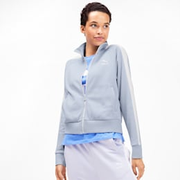 Classics T7 Women's Track Jacket, Heather, small-SEA