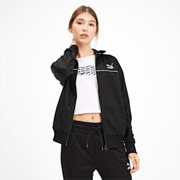 Classics Poly Women's Track Jacket, Puma Black, small