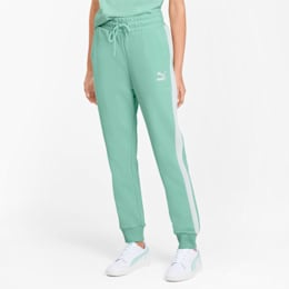 Classics T7 Knitted Women's Track Pants, Mist Green, small
