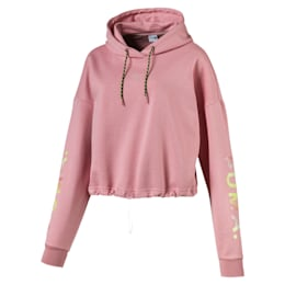 Chase Cropped Women's Hoodie