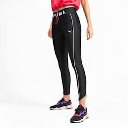 Chase Graphic 7/8 Women's Leggings, Puma Black, small