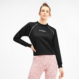 PUMA XTG sweater med rund hals til kvinder, Puma Black, small