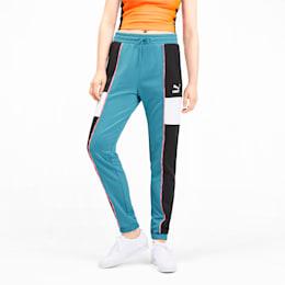Pantalon de survêtement PUMA XTG en maille pour femme, Milky Blue, small