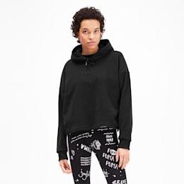 PUMA XTG Fleece Women's Hoodie, Puma Black, small
