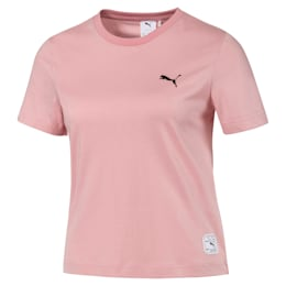 PUMA x SUE TSAI Damen Kurzes T-Shirt, Bridal Rose, small