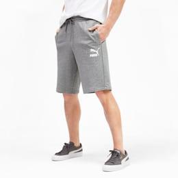 Classics Logo Herren Shorts, Medium Gray Heather, small