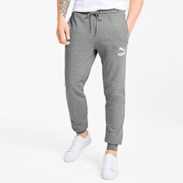 Classics Men's Cuffed Sweatpants, Medium Gray Heather, small