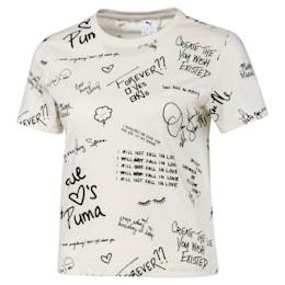 T-Shirt PUMA x SUE TSAI Allover-Print pour femme