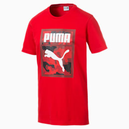 Classics Men's Graphic Tee, High Risk Red, small