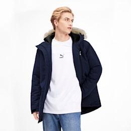 Classics Padded Men's Jacket, Peacoat, small