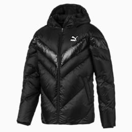 MCS Shiny Hooded Men's Puffer Down Jacket