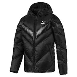 MCS Shiny Hooded Men's Puffer Down Jacket