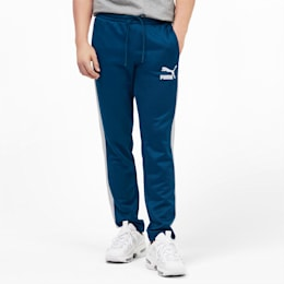 Iconic T7 Men's Track Pants, Gibraltar Sea, small
