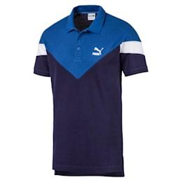 Camiseta tipo polo MCS icónica de piqué para hombre