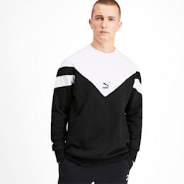 Iconic MCS Crew Men's Sweater, Puma Black, small