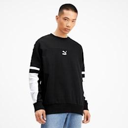 PUMA XTG Crew Men's Sweater, Puma Black, small-SEA