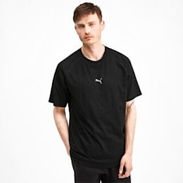 Epoch Short Sleeve Men's Tee, Puma Black, small-SEA