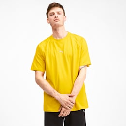 Epoch Short Sleeve Men's Tee, Sulphur, small