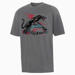 T-shirt PUMA x RHUDE uomo, Puma Black, small