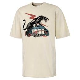 T-shirt PUMA x RHUDE uomo, Overcast, small