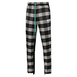PUMA x RHUDE All-Over Print Knitted Men's Track Pants, Puma White AOP, small