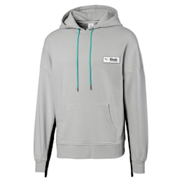PUMA x RHUDE Men's Hoodie, Gray Violet, small