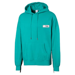 PUMA x RHUDE Men's Hoodie, Blue Turquoise, small