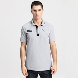 Mercedes AMG Petronas Herren Polo, Mercedes Team Silver, small